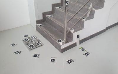 Medición de escaleras con fotometría